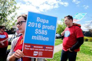 sres Bupa profit aged care